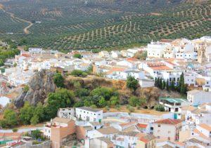 zuheros olijfstreek andalusie
