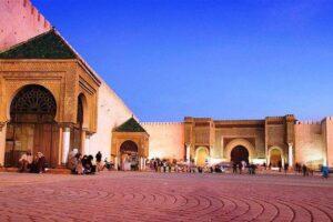 Meknes Marokko barrio life