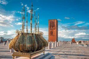 rabat marokko barrio life