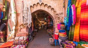 marrakech marokko barrio life