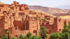 ait ben haddou marokko barrio life
