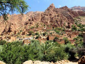 Marokko Tafraoute barrio life
