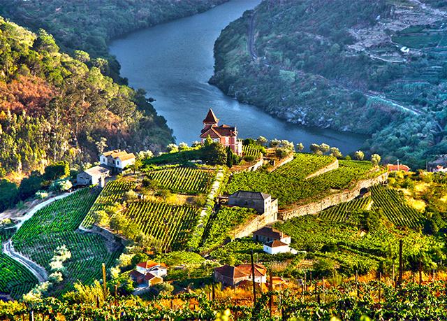 Dourro vallei Portugal